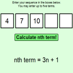 nth Term Calculator